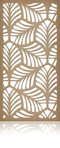 Ажурная декоративная перегородка из фанеры или дерева для зонирования пространства в комнате, квартире, офисе, артикул 51