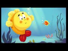 ▶ Les petits poissons dans l'eau - YouTube