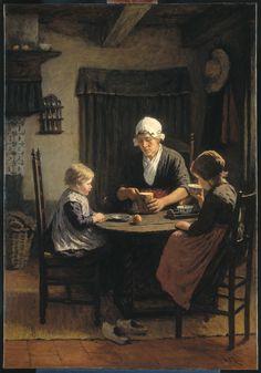 David Adolph Constant Artz, At Grandmother's. 1883