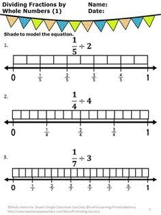 dividing a whole number by a fraction - Google Search
