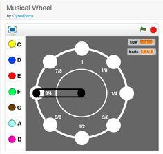 Musical Wheel - a #Scratch project http://scratch.mit.edu/projects/11093119/