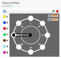 Musical Wheel - a #Scratch project http://scratch.mit.edu/projects/11093119/