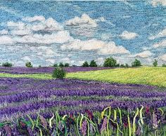 http://threadpainting.co.uk/Lavender Meadow.html
