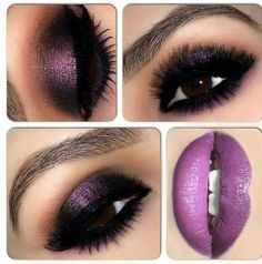 Love all things purple & yes I truly Love this look xxx