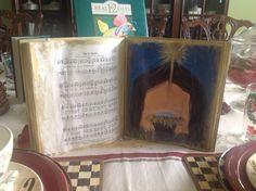 DIY altered Nativity Book