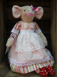 Artisanal, Textiles, Children, Animals, Fabrics, Tooth Fairy, Teddy Bear, Projects, Young Children