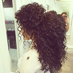 The most perfect curls I've ever seen
