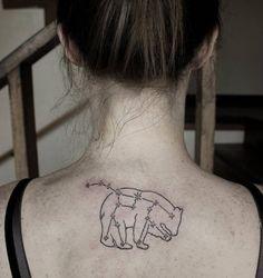 Bear constellation tattoo by Summer Breeze