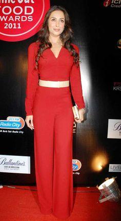 Malaika Arora Khan's red jumpsuit
