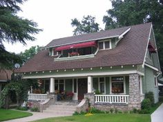 Historic Bungalow home in Redlands, California.