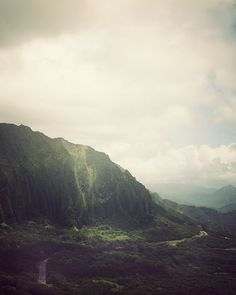 Pali Lookout in Hawaii Mountain Art Print by EyePoetryPhotography (Art & Collectibles, Photography, Color, Hawaii, Lush, Green, Tropical, Mountain, Oahu, Pali Lookout, Nature, Print, Autumn, Landscape)