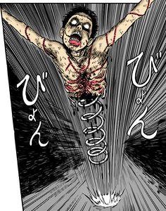 Ito junji Uzumaki - Chu he trong chiec hop by HuynhThanhSon on DeviantArt Creepy Horror, Creepy Art, Creepy Dolls, Junji Ito, Arte Horror, Horror Art, Japanese Horror, Bizarre Art, Jack In The Box
