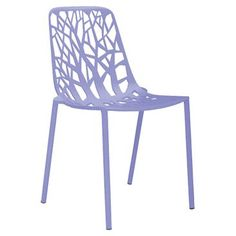Check out this item at One Kings Lane! Forest Outdoor Side Chair, Lilac