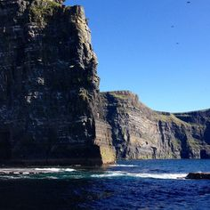 #Cliffsofmoher #Clare #Ireland #sea #sun #nature [Photo: QueenB] 2015