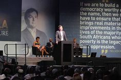 This is a transcript of economist Professor Thomas Piketty's address to the 13th Nelson Mandela Annual Lecture, which took place at the University of Johannesburg's Soweto campus on 3 October 2015.