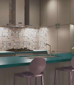 This back splash tile is awesome. Azulejos cocina Cicogres Chic Decor - Las baldosas de cerámica en la web