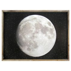 Full Moon Framed Art - Pillowfort,