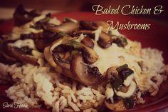 Baked Chicken & Mushrooms