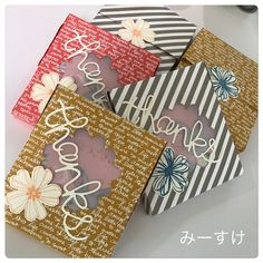 #stampin up #SU #スタンピンアップ #flowershop #in color #プチギフト Stampin Up, Gift Wrapping, Create, Awesome, Gifts, Wedding, Color, Gift Wrapping Paper, Valentines Day Weddings