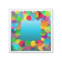 CKC Party Dots-9-PAPER PARTY NAPKINS #zazzle #papernapkins #ckc #partydots #margaretnewcomb #napkins