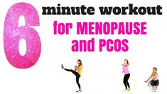 THE BEST WORKOUT FOR PCOS AND THE MENOPAUSE. This real time 6 minute workout is designed for PCOS and the Menopause as the exercises  that I have selected help to rebalance your hormones and this will help with weight loss.