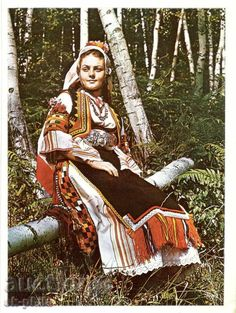 Costumes Around The World, Ethnic Dress, Folk Costume, Bulgarian, Eastern Europe, Ethnic Fashion, Tibet, Fashion History, Folklore