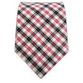 Shirt Grid Check - Fuschia/Black (Cotton) - Shirt Grid Check - Fuschia/Black (Cotton) Ties