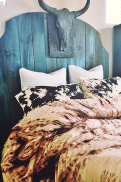 Bohemian Bedding (full/queen/king) Duvet Set - Super Soft 100% Cotton, Hand-dyed