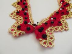 FREE SHIPPING detachable peter pan collar by trendycollars on Etsy, $10.90