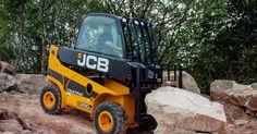El #teletruk30d #JCB es pequeño pero puede con cosas grandes.