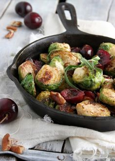 The Urban Poser:: Cherry & Pecan Brussel Sprouts With A Tarragon & Madeira Wine Reduction (GAPS, Paleo Options, Vegan)