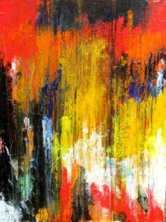 "Saatchi Art Artist Sal Panasci; Painting, ""Harlequin"" #art"