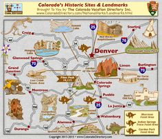 Colorado Region Locations Map Colorado Maps Pinterest - Coloradomap