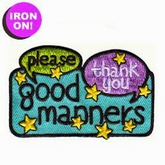 """MakingFriends Good Manners Fun Patch Iron on! """"Please"""" and """"Thank You"""" should be a way of life for your Girl Scouts. Reward your troop with this eye-catching fun patch for learning about manners. Girl Scouts Usa, Daisy Girl Scouts, Girl Scout Troop, Brownie Girl Scouts, Girl Scout Fun Patches, Girl Scout Juniors, Good Manners, Girl Scout Crafts, Cool Patches"""
