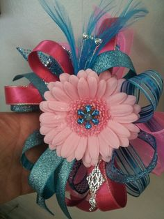 Prom wrist corsage.  Flowers of Charlotte loves this!  Visit us at flowersofcharlotte.