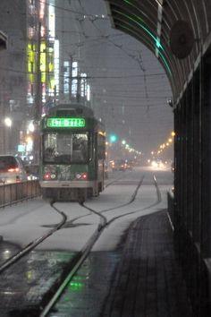 train platform - susukino