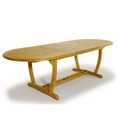 Montserrat Oval Teak Extension Table for Indoors a - Westminster Teak Outdoor Furniture