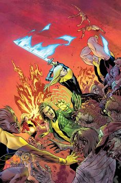 New Mutants: Dead Souls #1 alt by Adam Gorham and Michael Garland
