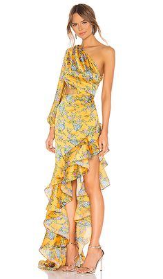 Bronx and Banco Hanna Gown en Multicolor Evening Dresses, Summer Dresses, Classy Casual, Costume, Revolve Clothing, Dream Dress, Beautiful Outfits, Dress To Impress, Designer Dresses