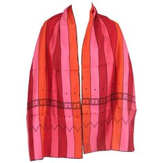 1960s Roberta Di Camerino | From a collection of rare vintage scarves at http://www.1stdibs.com/fashion/accessories/scarves/