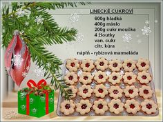 Christmas Candy, Christmas Ornaments, Christmas Biscuits, High Sugar, Czech Recipes, Keto Bread, Food And Drink, Baking, Holiday Decor