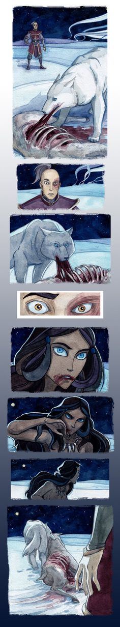 Wolf's time by Biorn-21. I know it's ATLA but I find it inspiring so I'm putting it on this board instead.