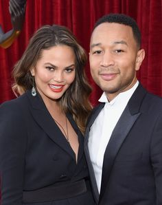 Celebrity Gossip & News | Chrissy Teigen and John Legend's SAG Awards Outing Will Give You the Warm and Fuzzies | POPSUGAR Celebrity Australia Photo 2