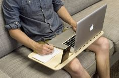 LapDesk SALE Slate 2.0 with Desk Space by iSkelterProducts