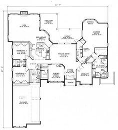Grist mill bungalow house plan 07462 1st floor plan for 110 sq ft bedroom design