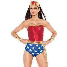 Sexy disfraces de la Mujer Maravilla, Robin y Batichica