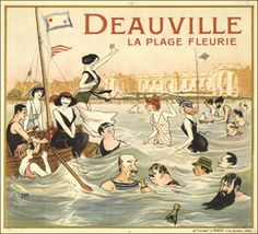 Affiches -- Deauville