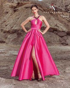 Vestidos de Fiesta, Vestidos de madrina, Vestidos para boda, Vestidos de Coctel 2017. Colección Primavera Verano Completa 2017 Scarlett. Sonia Peña - Ref. 1170271