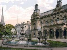 Municipal buildings, Southport, England