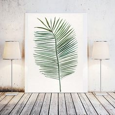 This beautiful leaf art print brings subtle nature into your home. Ideal with the boho or minimalist botanical theme and can be dressed up or down with any given frame. Sits perfectly in the entryway with a grey scheme or team it with other organic prints and make a pretty nature wall by a sunny window. It was hand painted by myself in watercolour and digitally enhanced before being made into this pretty print for you. These files are available immediately after payment - so they will be…